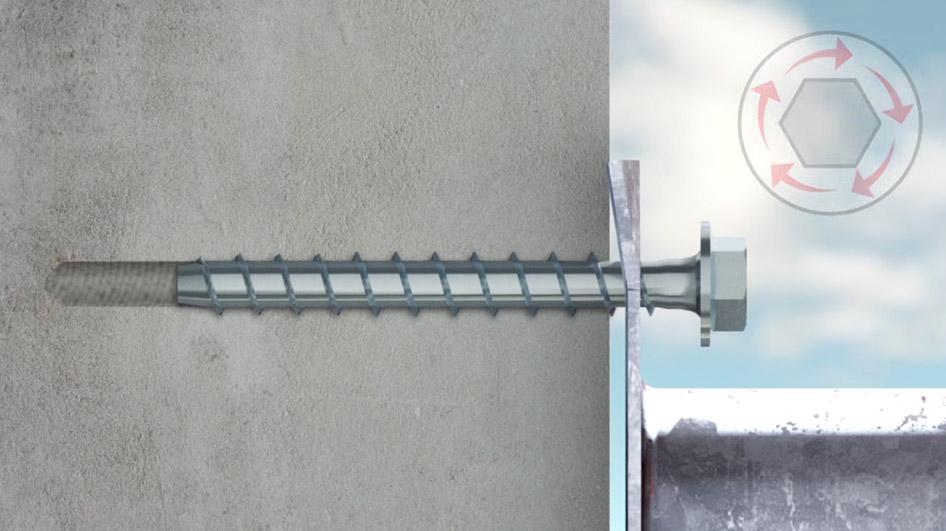 HECO 21685 MMS-P Halbrundkopf Multi-Monti Schraubanker 5 x 30 mm verzinkt 200 St/ück
